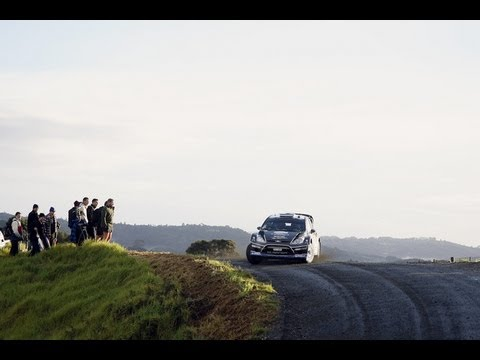 WRC 2012 - Rally New Zealand - Day1 Highlights