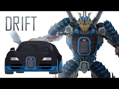 DRIFT - Short Flash Transformers Series