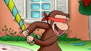 Curious George 🐵Piñata Vision 🐵Kids Cartoon 🐵Kids Movies | Videos for Kids