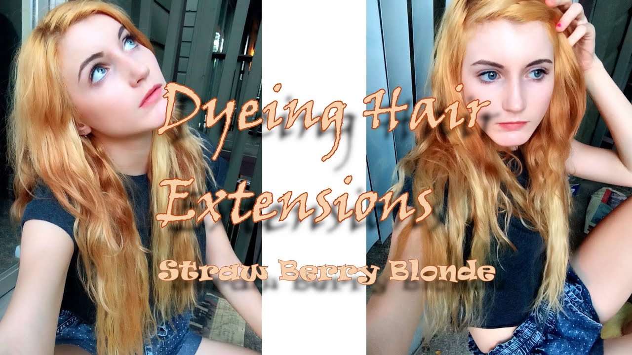 Strawberry Blonde Hair Tutorial   Extensions   VP Fashion - YouTube 4382d6a9d7