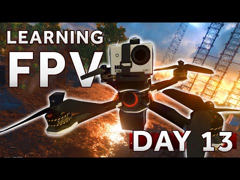 Фото Can I fly with the TBS Tango II? [Day 13] Learning how to fly a FPV Drone LIFTOFF SIMULATOR