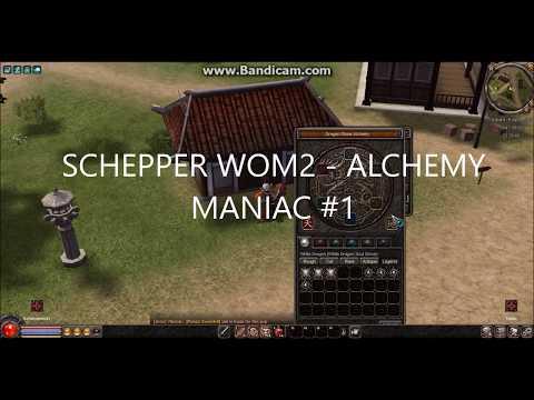SCHEPPER WOM2  // EPIC ALCHEMY // MONTAGE #1