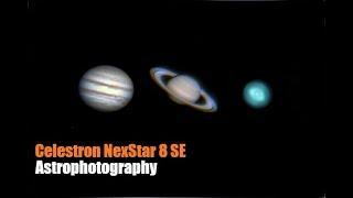 Celestron NexStar 8 SE - Astrophotography