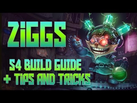 Ziggs build season 4 lolking / Diesel square window bracelet