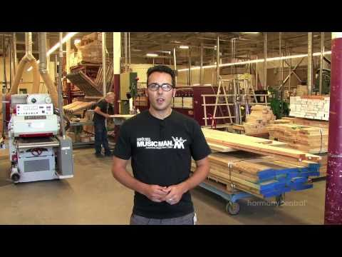 Ernie Ball Music Man Guitar Factory Tour - Part 1 of 2