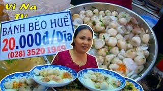 Bánh bèo Huế 20k/dĩa rẻ nhất chợ Bến Thành trung tâm Quận 1 - Vi Na TV