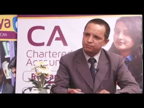A talk-show about CA education in Nepal