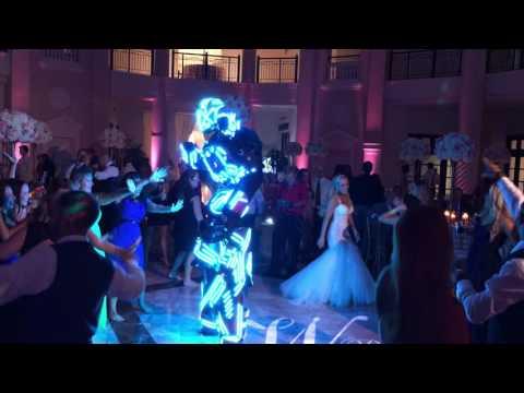 Led Robot dancing