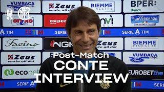 CROTONE 0-2 INTER | ANTONIO CONTE EXCLUSIVE INTERVIEW: