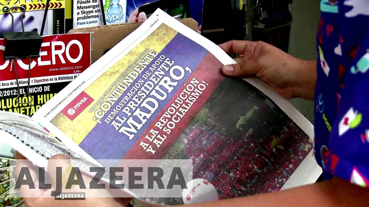 Venezuela: Protests, propaganda and self-censorship - The Listening Post (Full)