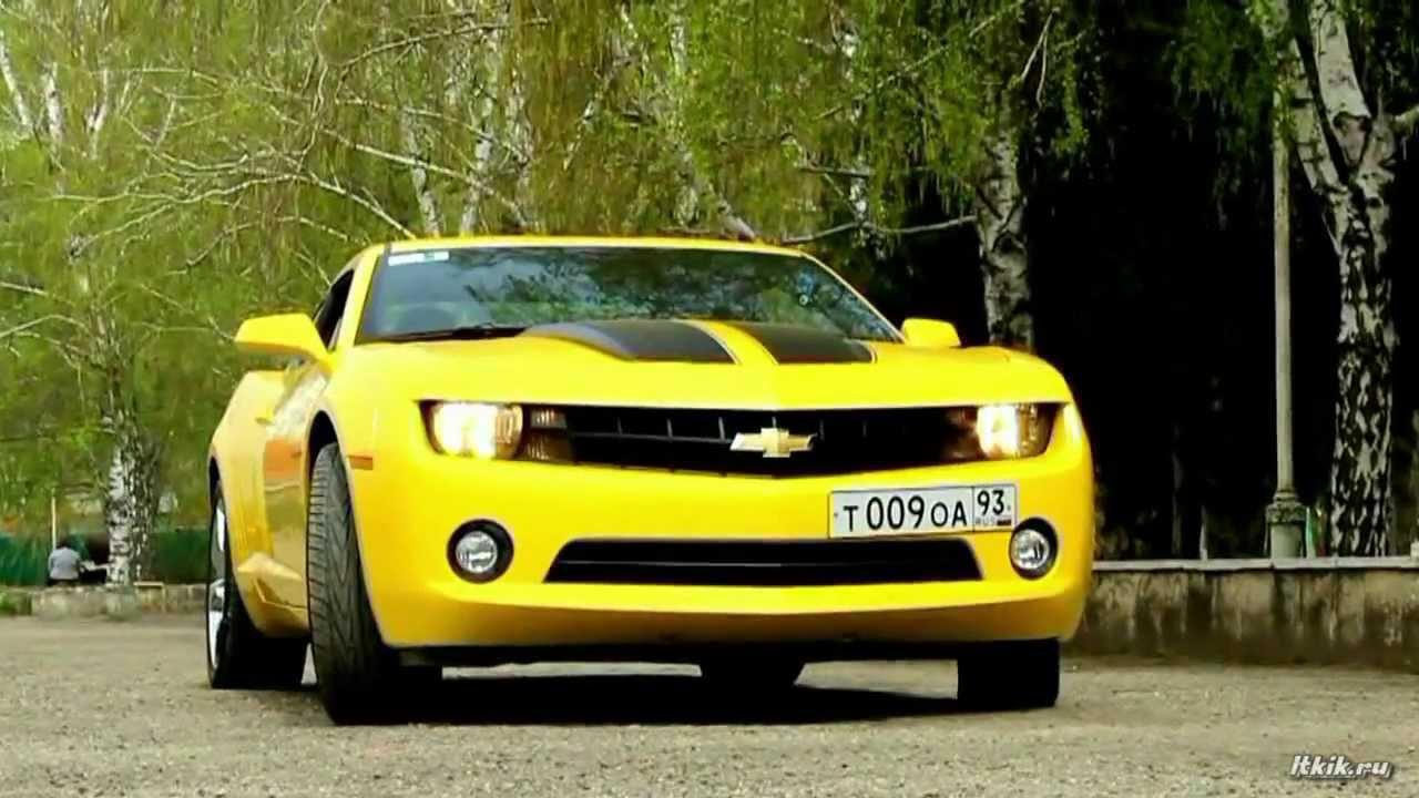 chevrolet camaro желтый