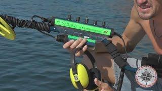 Подводный металлоискатель Minelab Excalibur 2 краткий видео обзор