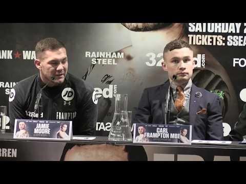 FRAMPTON v DONAIRE: Full Belfast press conference (January 17th, 2018)