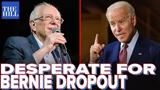 Krystal and Saagar: Biden DESPERATE for Bernie to drop out as new polls show massive liabilities