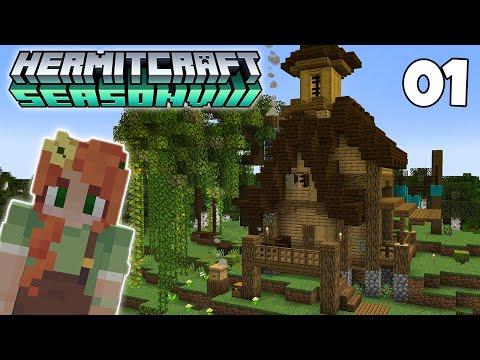 Hermitcraft 8: A New Hermit has Arrived! Episode 1