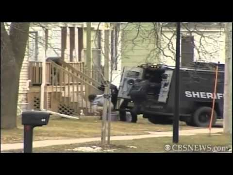 Risky hostage rescue, officer shot