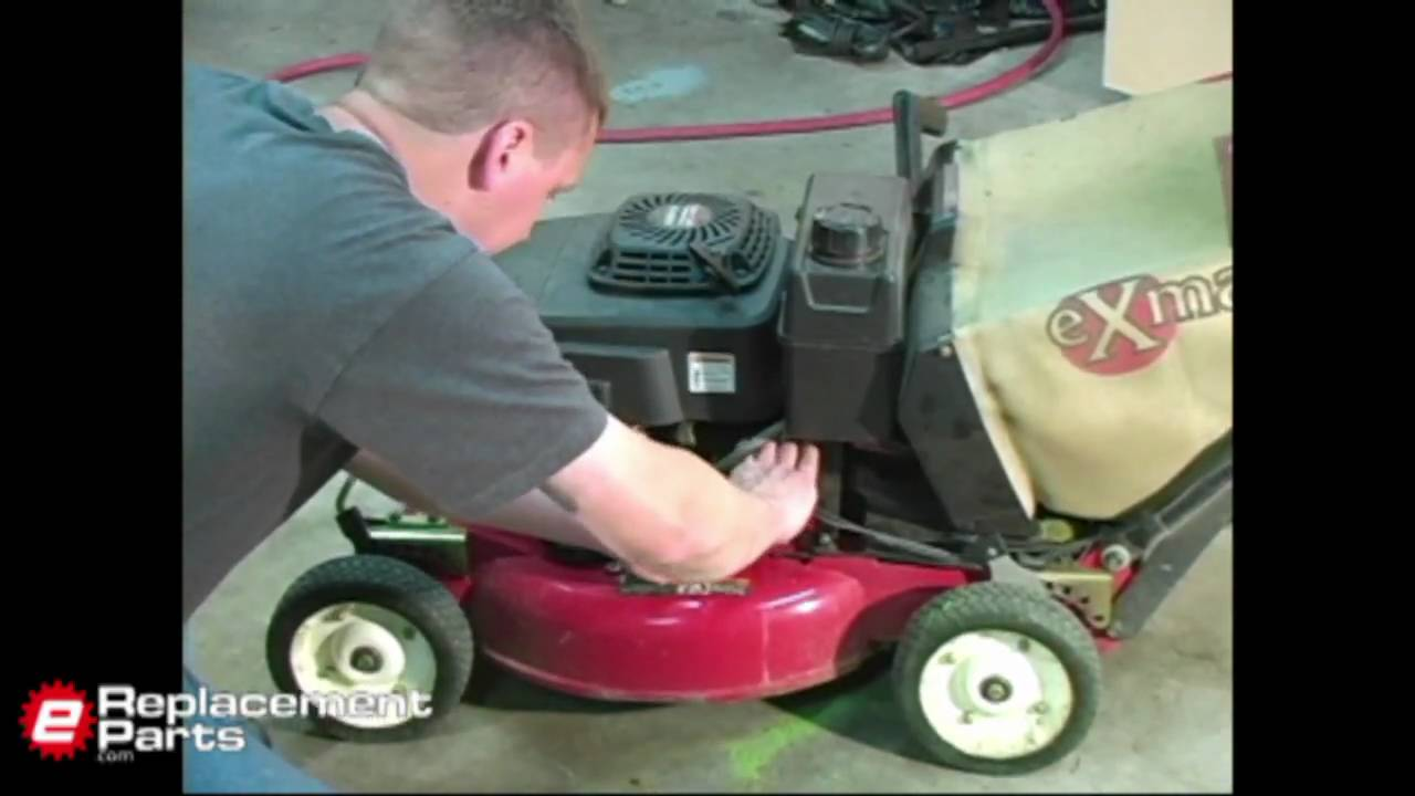 How To Change Lawn Mower Oil Youtube American Standard 4800000 Parts List And Diagram Ereplacementparts Ereplacementpartscom