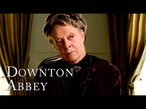 Nothing Gets By The Dowager Countess   Downton Abbey