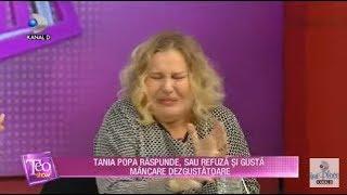 Teo Show (27.11.2019) - Tania Popa raspunde sau refuza si gusta mancare dezgustatoare!