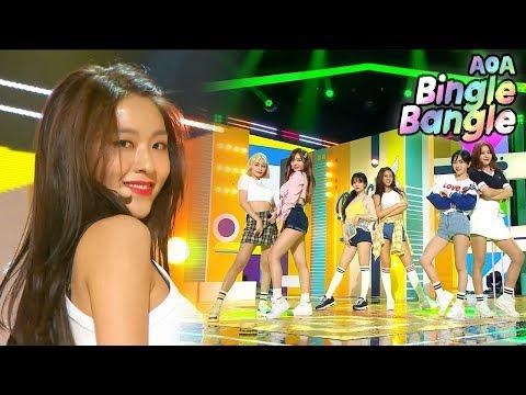 [Comeback Stageg] AOA -  Bingle Bangle ,...