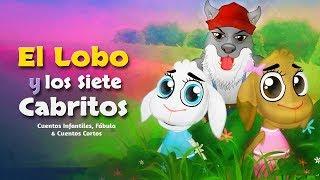 El Lobo y los Siete Cabritos   Cuentos infantiles para dormir thumbnail