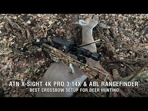 Best Crossbow Setup For Deer Hunting – ATN X-Sight 4K Pro & ABL Rangefinder