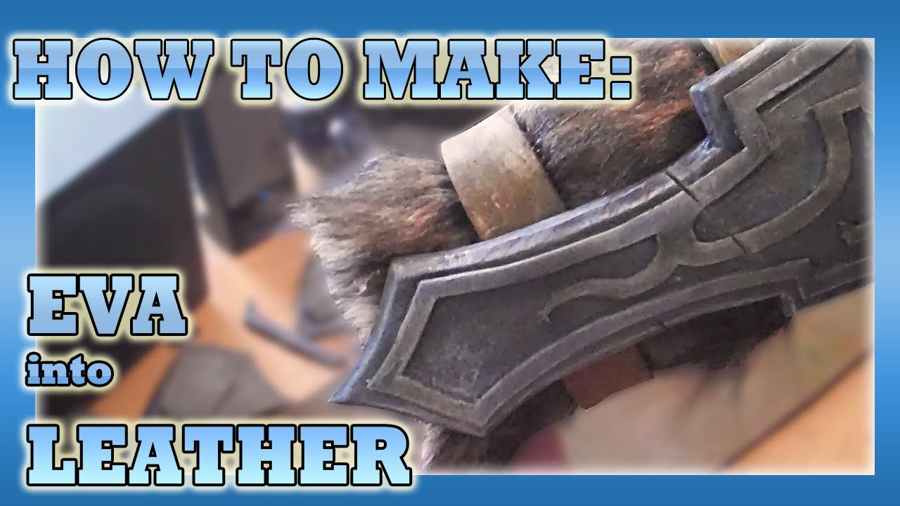 Working with EVA Foam for Costume Construction | Make: