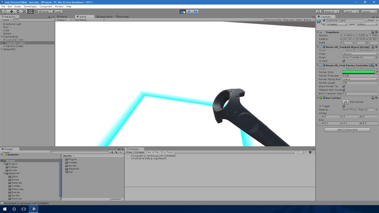 Unity Vr Grab Object