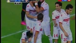 بالفيديو.. #باسم_مرسي يقتل آمال #الإسماعيلي في #كأس_مصر