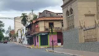 Recorriendo las calles de Asunción Paraguay
