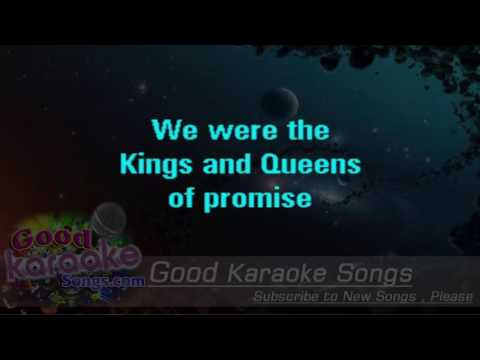 Kings And Queens -  30 Seconds To Mars (Lyrics Karaoke) [ goodkaraokesongs.com ]