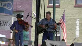 Brad at Dan Emmett Fiddle Contest