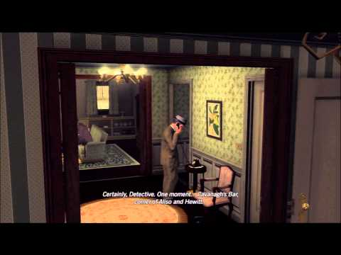 LA Noire Walkthrough: Case 5 - Part 2 [1080p HD] (XBOX 360/PS3) (Gameplay)