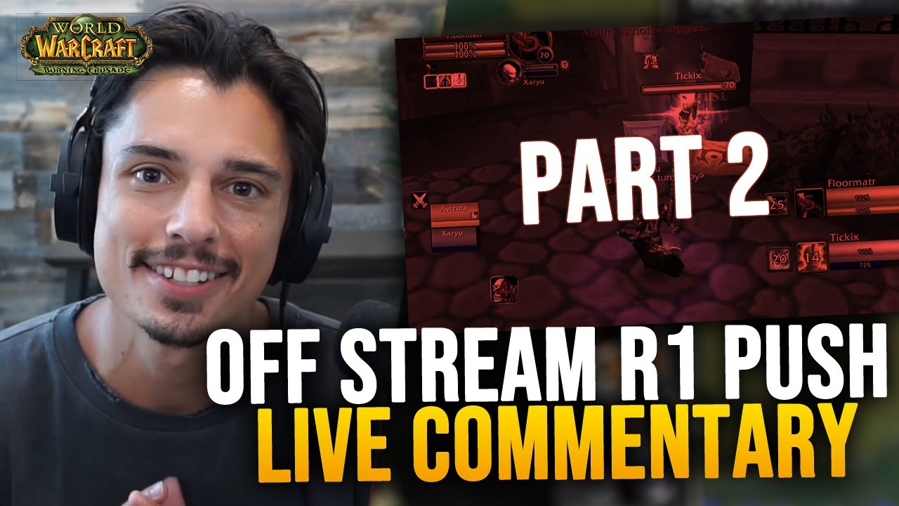 PART 2 OF PUSHING R1 SECRETLY Off-Stream... (2700 -- 2900 COMMENTARY)