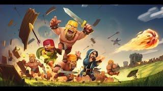 Clash of Clans #1 [destrozando aldeas noobs]