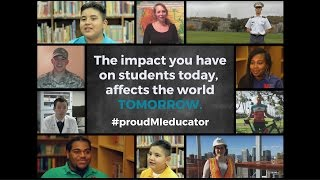 #proudMIeducator: Char-Em ISD Graduates Thank...