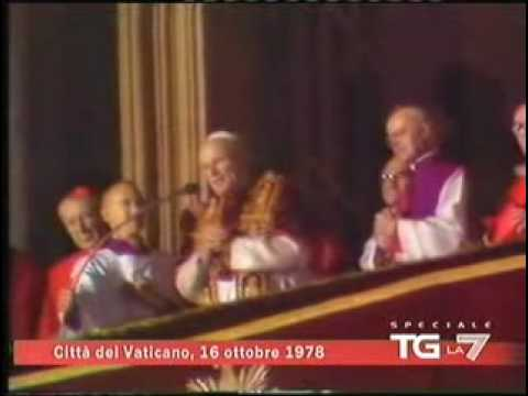 Pope John Paul II Gets Elected Pope