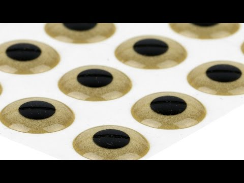 3D Epoxy Eyes, Sand Gold, Short Introduction Video