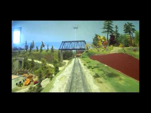 The Minnesota Central Model Railway HO Layout, 1,320' of Main LIne!