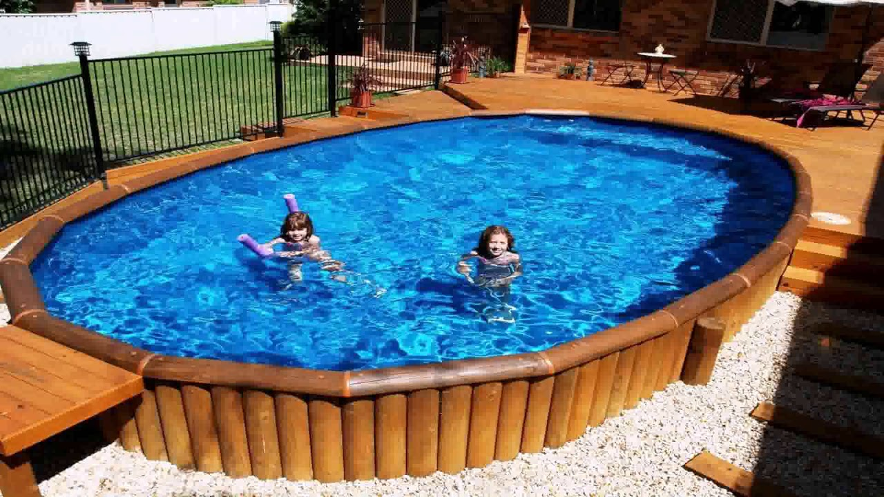 Jacuzzi Pool Youtube 27 Foot Above Ground Pool Deck Designs Youtube