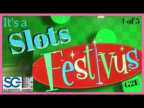 🎅🏁 It's a Slots Festivus! ✦ Seinfeld + 007 + Monopoly + MORE! ✦ Brian Christopher w/ SG @ G2E