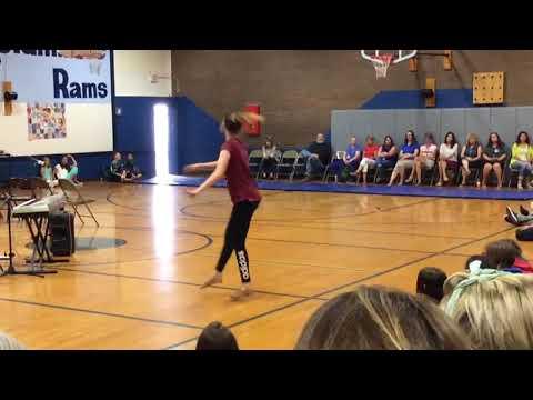 Columbine Middle School Talent Show Jazz Solo 2018