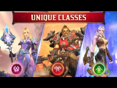 Crusaders of Light Gameplay- Open World MMORPG for Android and iOS