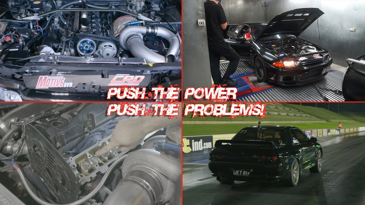 How much power can a stock bottom end RB26 in a GT-R really handle?