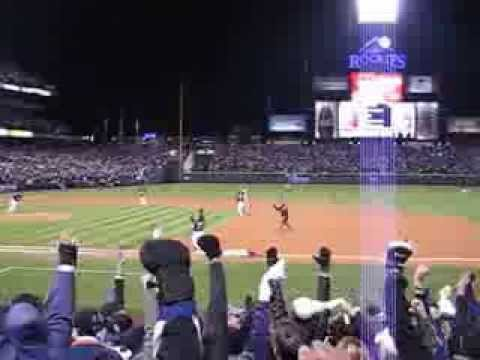 My greatest memory of Todd Helton