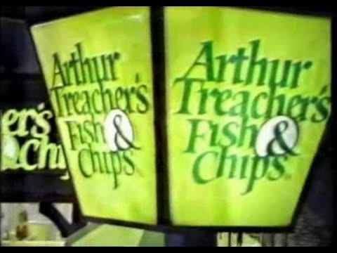 Arthur Treacher's Fish & Chips (Commercial, 1979)