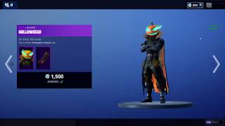 Buying the Hollowhead skin in Fortnite