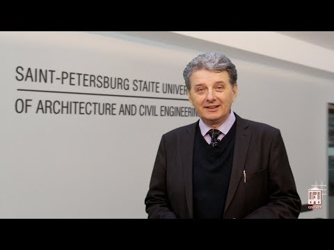 The invitation for studying at St Petersburg State University of Architecture and Civil Engineering