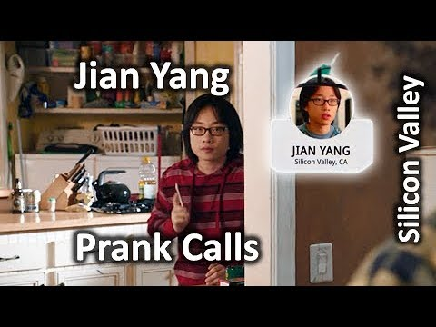 Jian Yang Prank Calls (All 5) Silicon Valley