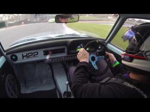 James Harris HPE mk2 Escort Brands Hatch Trackday 26/11/16